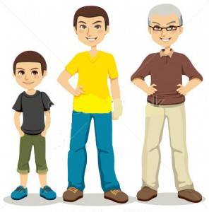 stock-vector-illustration-of-three-ages-of-men-from-child-to-senior-86265409